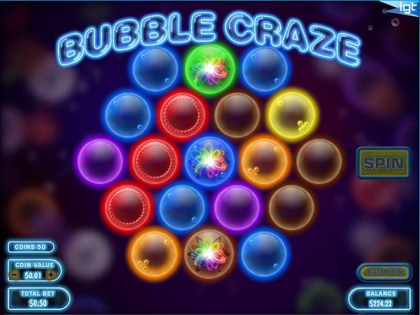 ベラジョンカジノ_BUBBLE CRAZE