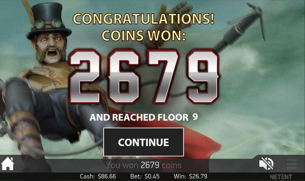 ベラジョンカジノ20151107_Steam Tower_3